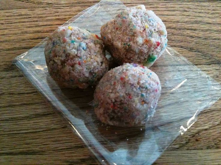 Have A Ball Birthday Cake Truffles By Momou Milk Bar