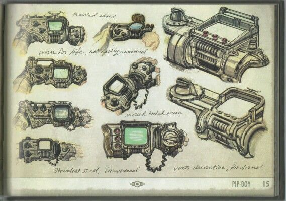 1000 Images About Pipboy 3000 On Pinterest Fallout New