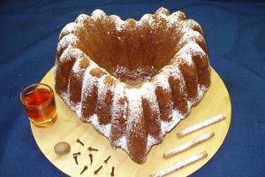 Κέικ κανέλας με μέλι.Ανατολιτικες μυρωδιες..