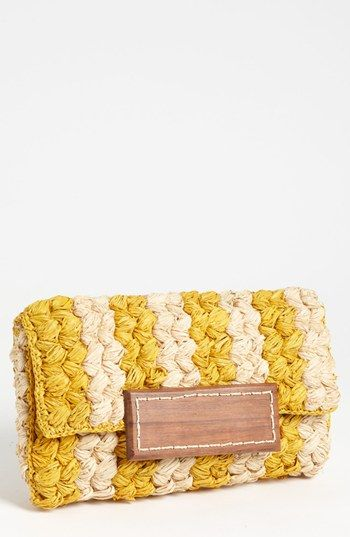 Mar y Sol Remy Braided Clutch | Nordstrom