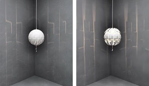 Ikea PS 2014 Lamp. We call it the Death Star and it's frickin' awesome.