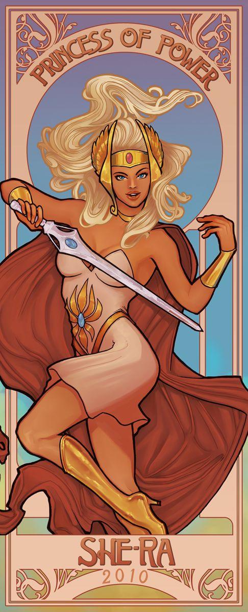 She-Ra!! nossa eu assistia esse desenho!!!