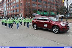 ohio green chevrolet st day parade stuff patricks akron equinox 2014