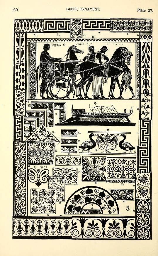 Styles of Greek ornament