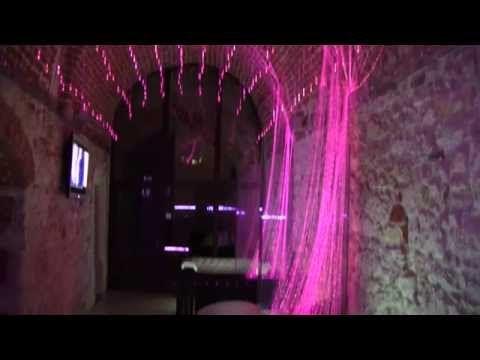 oświetlenie światłowodowe w klubie , oświetlenie dyskotekowe LED lampa efekty…