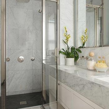Slate Herringbone Shower Floor - Design, decor, photos, pictures ...