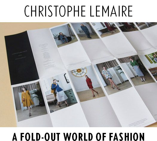 Christophe Lemaire Look Book 00