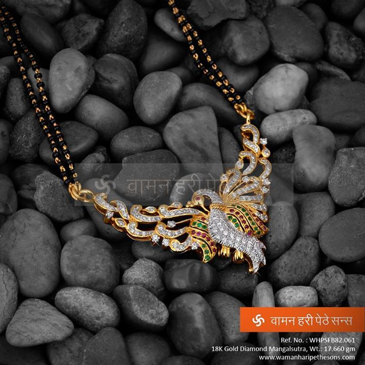 Yes #trendy #stylish #mangalsutra exclusively for you