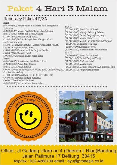 Wisata Tour Belitung 4D3N