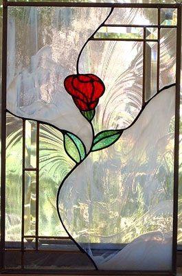 Panneau de fenêtre vitrail, Custom