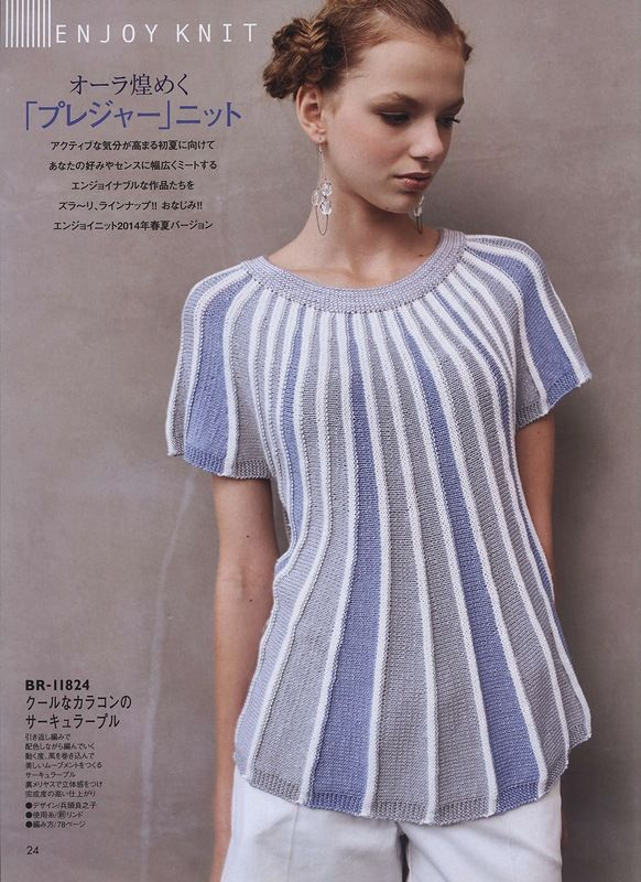 great sweater, possible with 100farbspiele yarn + 1 contrast colour