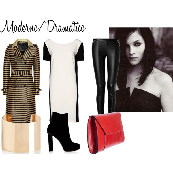 Dramatic Clothing Personality By Flahvia On Polyvore Dramatic Personality Pinterest