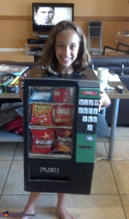 The Vending Machine - DIY Halloween Costume