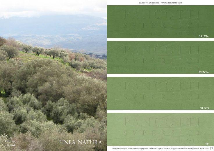 Linea Natura | #verde | #salvia #menta #olivo #tè