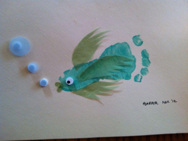 Harper's footprint fish