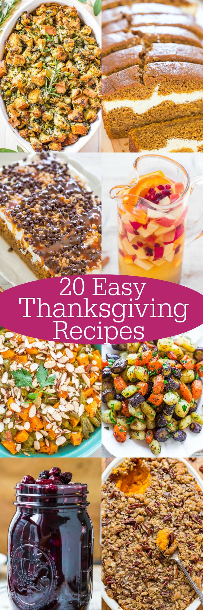 20 Easy Thanksgiving Recipes