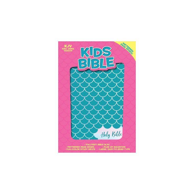 Holy Bible : King James Version, Kids, Aqua Leathertouch (Paperback)