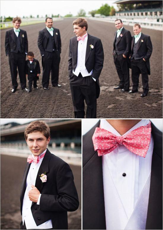 groomsman attire ideas #formalgroom #classicgroom #suitwithtails http://www.weddingchicks.com/2014/01/02/horse-racing-wedding/