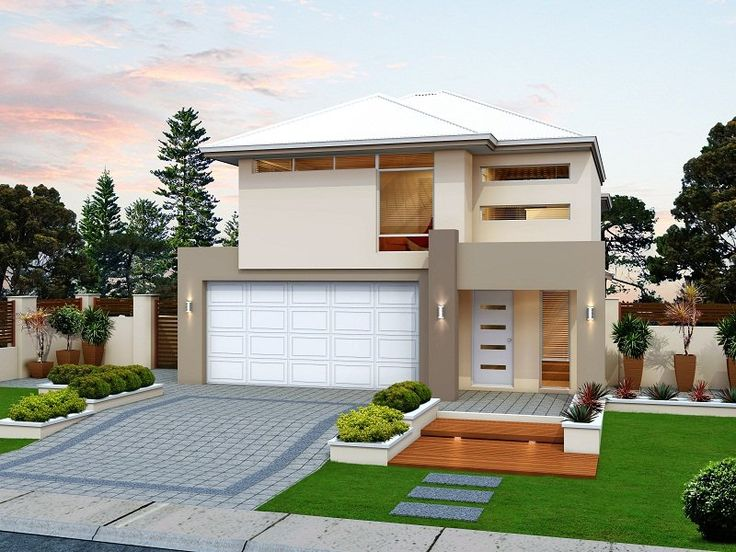Photo of a house exterior design from a real Australian house - House Facade photo 588126