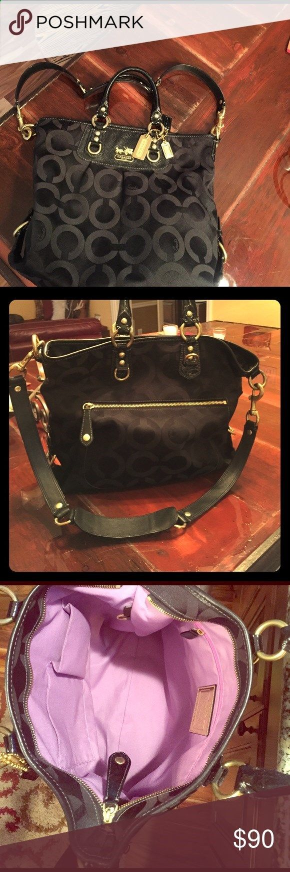 Coach purse Impeccable Black Coach purse. Coach Bags Shoulder Bags