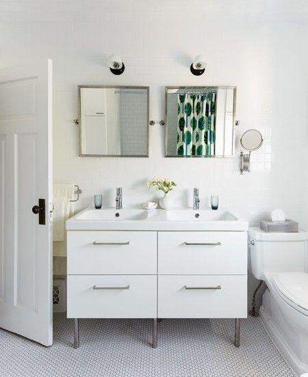 Photo Gallery: Budget Bathroom Makeover. Ikea BathroomBasement BathroomBathroom  IdeasBathroom ...