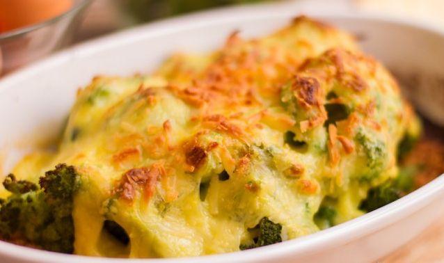 Sajtos sült brokkoli egészségesen