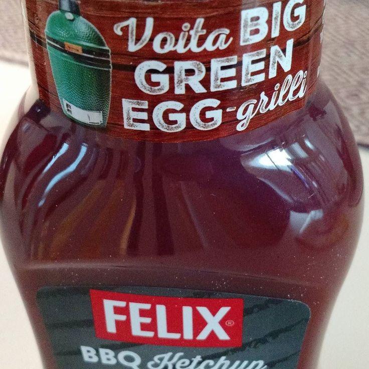 #biggreenegg #grillshop.fi #felixketchup by d_sten