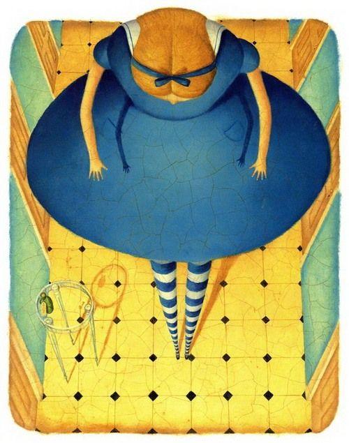 """(+1) - Льюис Кэрролл """"Алиса в стране чудес"""" - иллюстрации"""
