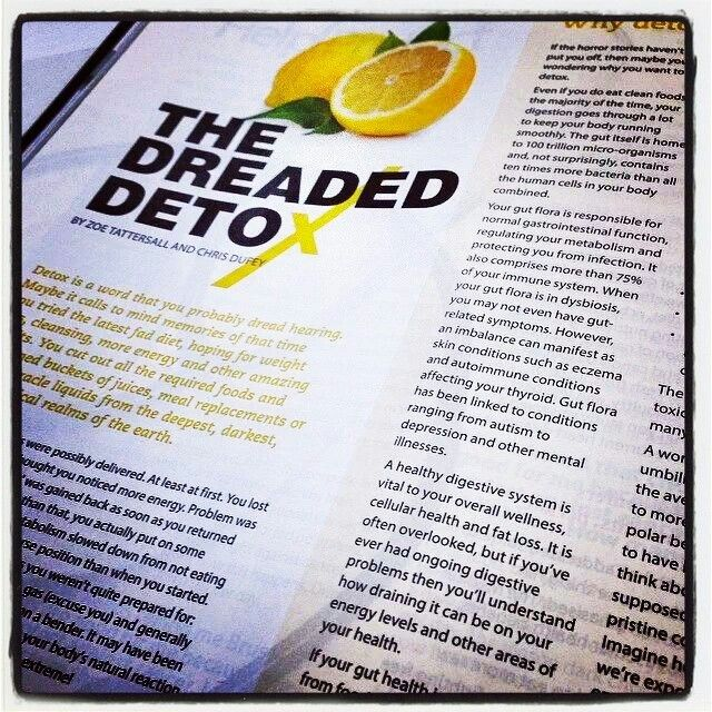 """The Detox Cleanse Nourish Program -- featured in """"Clean Eating"""" magazine -- awesome ☆ #detox #energy #vitality #dcnpower -- look at it here: www.detoxcleansenourish.com"""