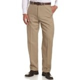 Haggar Men's Cool 18 Heather Gabardine Flat Front Pant,British Khaki,38x29 (Apparel)  Very cool dree. Do you have it ? :D :p. Click this picture :)