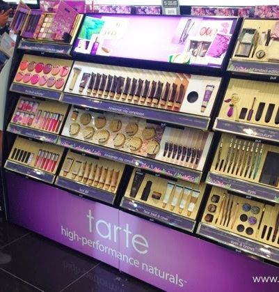 My favorite cosmetics brand - Tarte - made with non-toxic ingredients, gentle on skin, and so pretty!