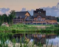 Elk Ridge Lodge at Waskesiu Lake, Sask. On my bucket list to stay there.
