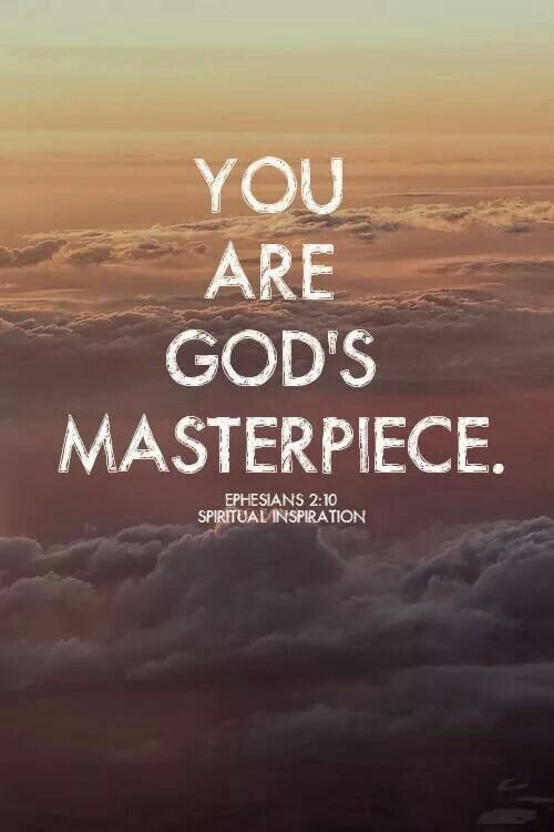 You are! So stop saying you are a mistake. God doesn't make mistakes and anyone who says you are, they are mistaken :)