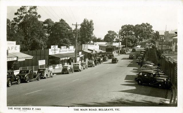 Belgrave, main street