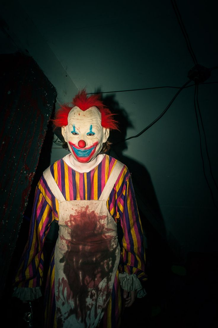 Clown Room Haunted House Ideas