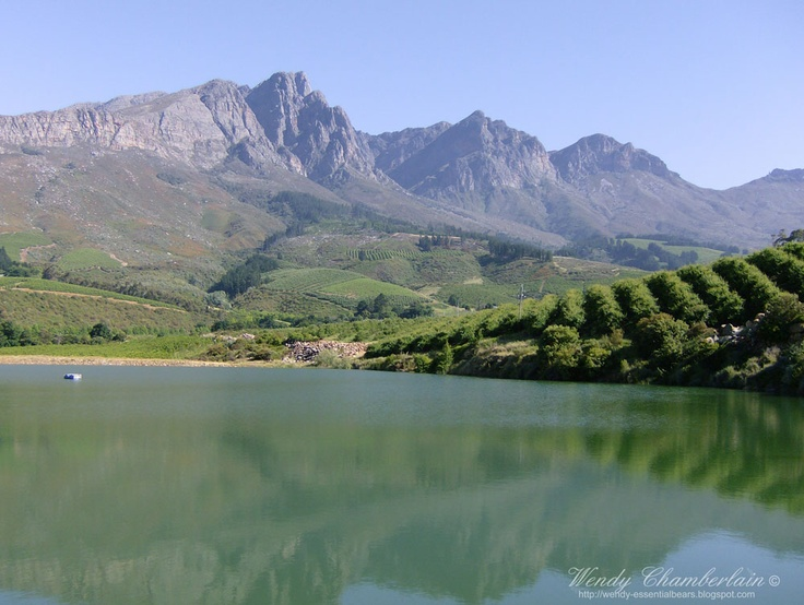 I get to go to a wedding here in September.....Tulbagh,  South Africa