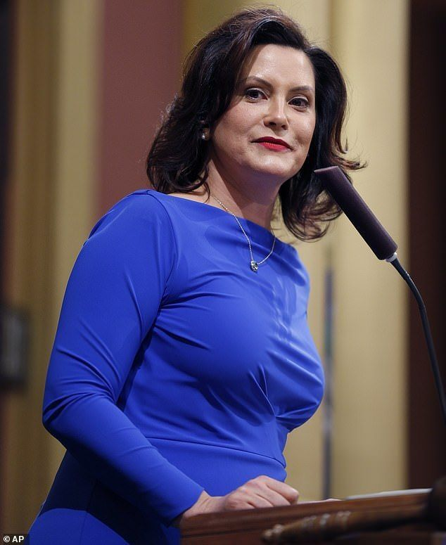 The Governor Of Michigan Gretchen Whitmer Women Leaders Fashion Women