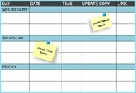 The Social Media Publishing Schedule Every Marketer Needs [Template]