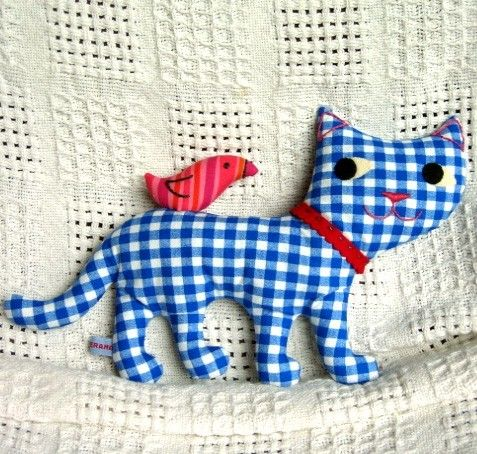 KittyBird  PDF sewing pattern by maggierama on Etsy, $8.00 #kittycatbird