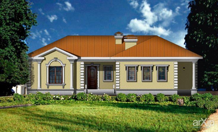 Гостевой дом «Классика»: архитектура, 1 эт | 3м, жилье, неоклассика, 100 - 200 м2, фасад - кирпич, коттедж, особняк #architecture #1fl_3m #housing #neoclassicism #100_200m2 #facade_brick #cottage #mansion arXip.com