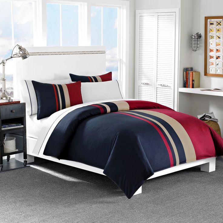 Superb Nautica Everson Tradtional Cotton Duvet Cover Set   Overstock™ Shopping    Great Deals On Nautica Duvet Covers Gallery
