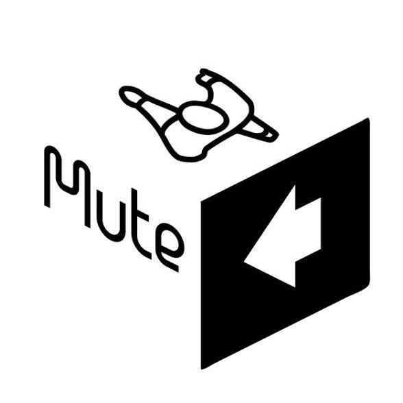 sony music logo vector. mute sony music logo vector