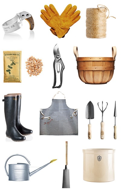 gardening gear from Kaufmann Mercantile