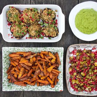 Deliciously Ella's Ultimate Veggie Christmas Lunch | Food