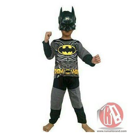 Batman (KC-5) @Rp. 110.000,-   http://rumahbrand.com/kostum-anak/1416-batman.html