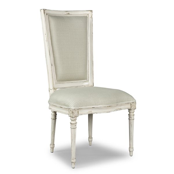 Antique White Paint Dining Chairs