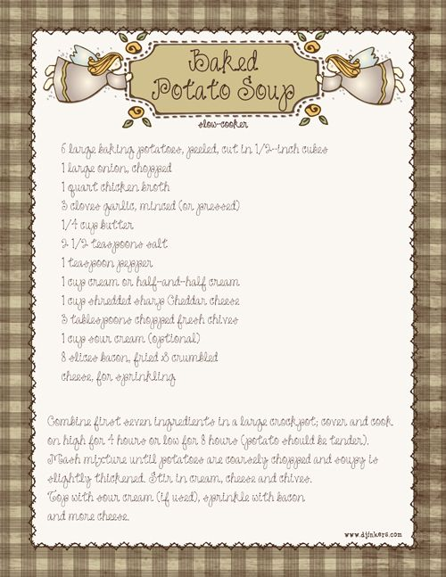clipart for recipes - photo #47