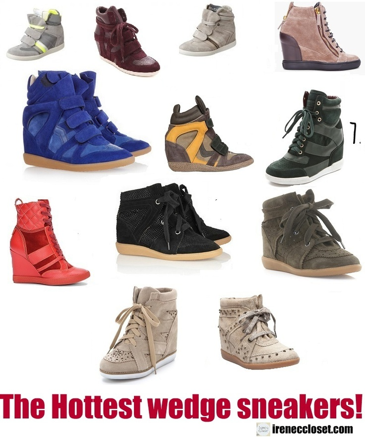 #wedges #sneakers where to buy? More on www.ireneccloset.com