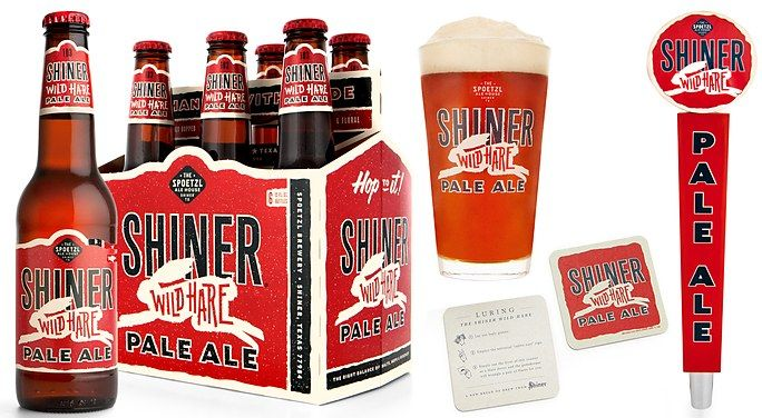 Shiner Wild Hare Pale Ale Packaging | McGarrah Jessee