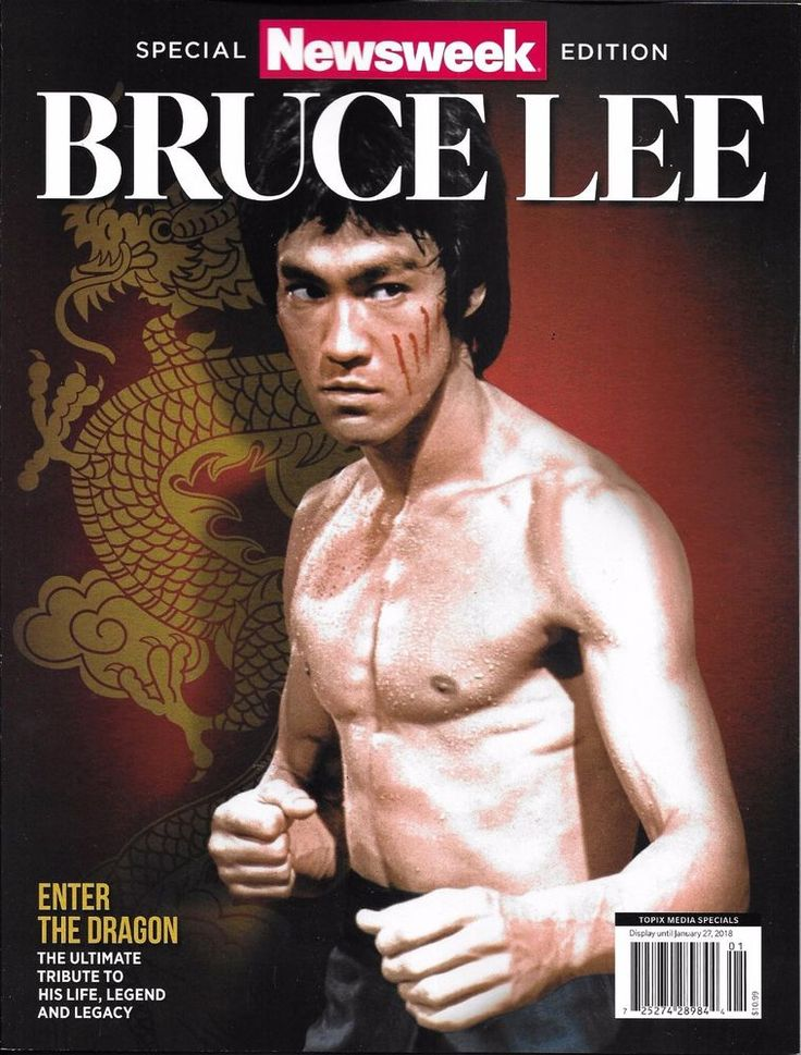 Newsweek magazine Bruce Lee Special tribute issue edition Martial arts Movies